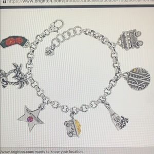 Brighton California Charm Bracelet